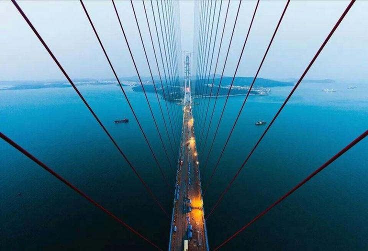 """Russky Bridge Vladivostok"""