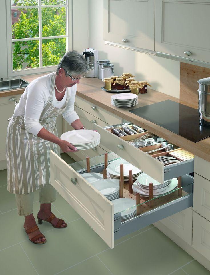 11 best Kitchen drawer organizer images on Pinterest Kitchen - besteckeinsatz für nolte küchen