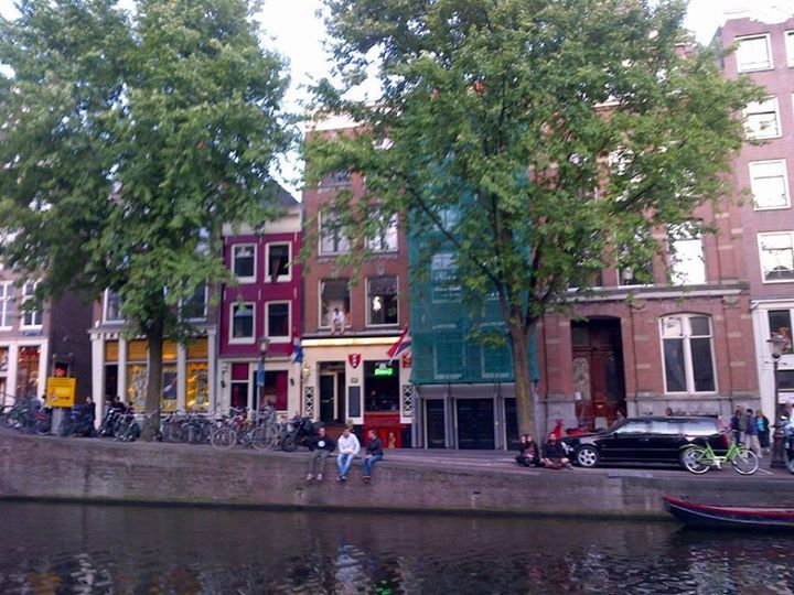 11 August last year I was sitting on the canals of Amsterdam taking this picture. It was the best of holidays roaming around Prague and Amsterdam with the most amazing people, those kind that make you want to standstill and breathe in the happiness. I had just found out I will have a second niece and in that moment, holding my friend's hand, on Amsterdam's canals life stood still and one second became infinity. Today my second niece was born and all I wish for her is to have the strength to…