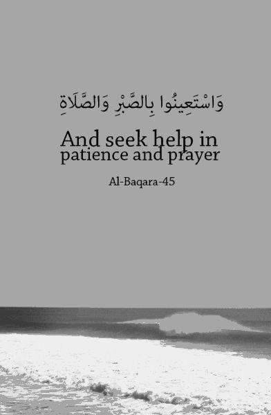 Surah Al-Baqarah Verse 45 #quran