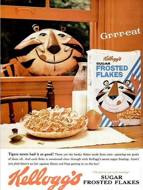 Vintage Kelloggs Sugar Frosted Flakes