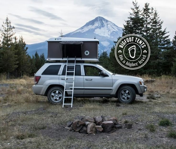 Bigfoot Roof Top Tent Roof top tent, Top tents, Tent