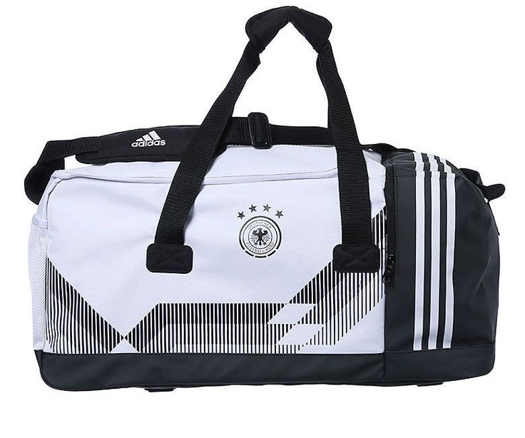 adidas DFB German Sports Team Bag Football Backpack Soccer Bags White CE4940 NWT #adidas #DuffleGymBag