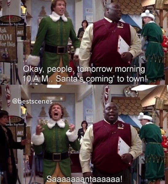 Best Christmas Movies Of All Time: 25+ Best Elf Quotes On Pinterest