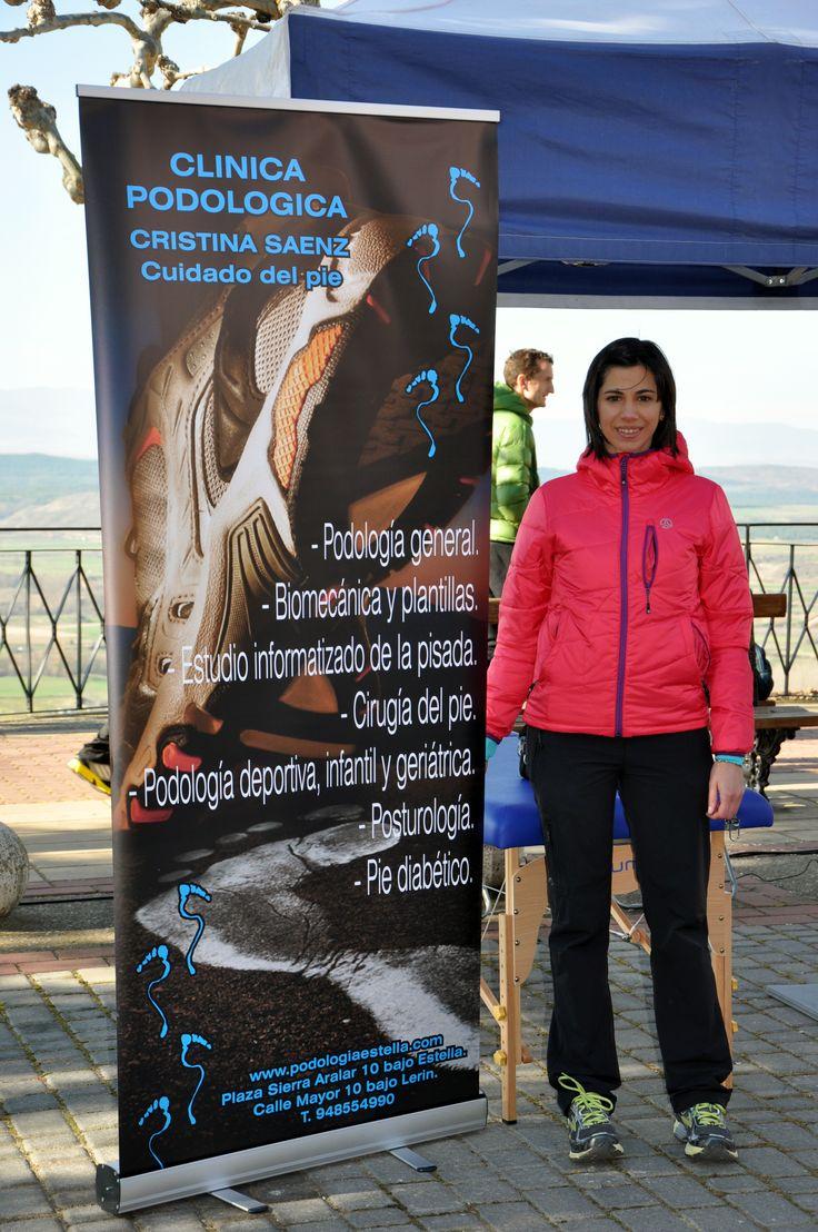 Colaboracion de Clinica POdologolgica Cristina Sáenz en el Primer Cross los pinares