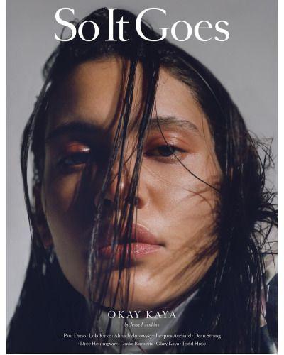 Kaya Wilkins @okay.kaya is on the cover of So it Goes issue 7, photographed by Jesse J. Jenkins Okay Kaya