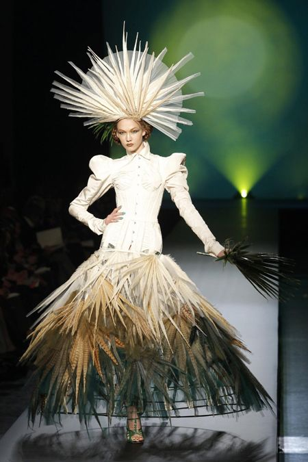 The Jean Paul Gaultier Spring-Summer 2010 Haute Couture collection