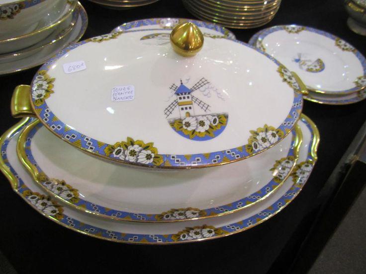 1000 id es sur le th me service de table porcelaine sur for Service de table art deco