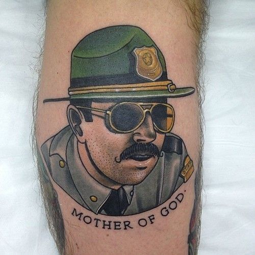19 Movie Tattoos You Might Not Recognize. Haha! Super Troopers and Firefly for the win!