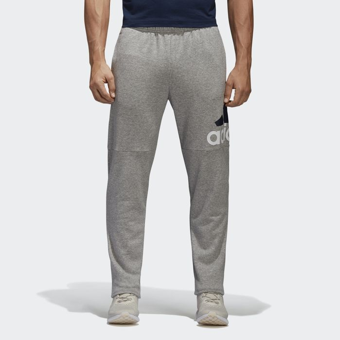 adidas Essentials Logo French Terry Pants - Mens Pants