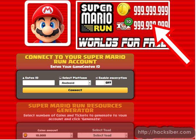 Download Online Super Mario Run Hack