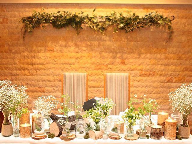 #高砂 ジャーに入ってる多肉ちゃんも丸太も小瓶も可愛すぎる😿💓 お花ご担当してくださった方が本当にハイセンスで優しくて、、私のしたいこと全部叶えてくれました😭感謝🙏💕💕💕 #結婚式 #装花 #結婚式装花 #テーブルコーディネート #ナチュラルウェディング #フラワーアレンジメント #キャンドル #メイソンジャー #多肉植物 #かすみ草 #かすみ草ウェディング