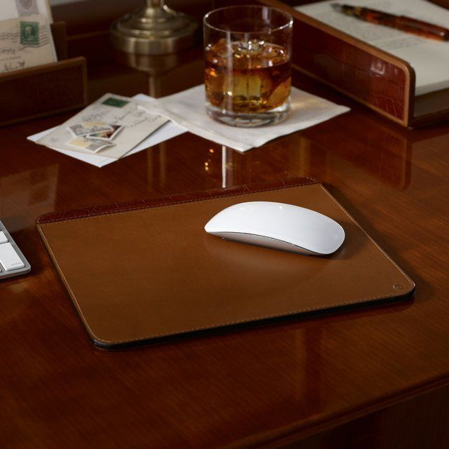 Moore Leather Mouse Pad - $75