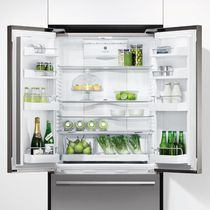 Réfrigérateur à tiroir / à double porte / en inox / encastrable