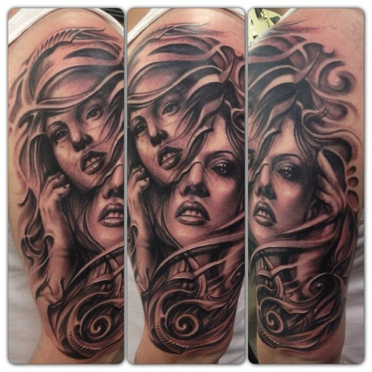 Gemini tattoo I could pull this off;)