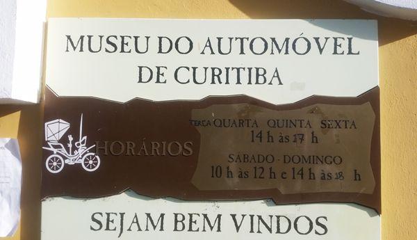 Museu do Automóvel. Curitiba/PR.