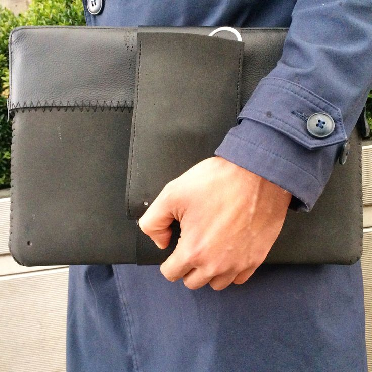 always be stylish and protected at the same time.. this.leather MacBook sleeve is here to host the charger in it's own external removable pocket, it seals with waterproof zipper, all that are surrounded from leather and rubberfoam! Feeling safe..  #MacBook #sleeve #blackseries #leatger #rubberfoam #waterproof #zipper #mensfashion #design #handcafted #mensaccessories #london #charger #pocket #thisisit #thisisitgram #thisisitdaily