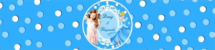 Cinderella Birthday Party SİNDİRELLA KİŞİYE ÖZEL SU ŞİŞESİ BANDI: Sindirella Temalı Doğum günü partinizde her şey temaya uygun olsun diyorsanız. Misafirlerinize suyu pet şişelerde özel tasarlanmış bantlar ile ikram edebilirsiniz.  36 adet gönderilmektedir. Ölçü: 23 x 5 cm.