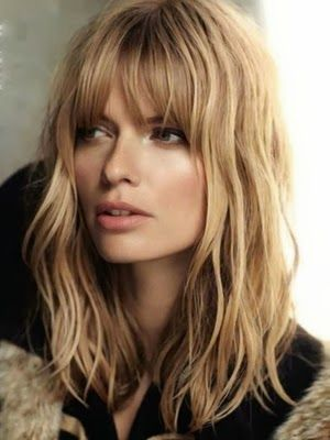 Tu pelo Tu look : Tendencia cortes de pelo 2014 con flequillo: Una atractiva combinación
