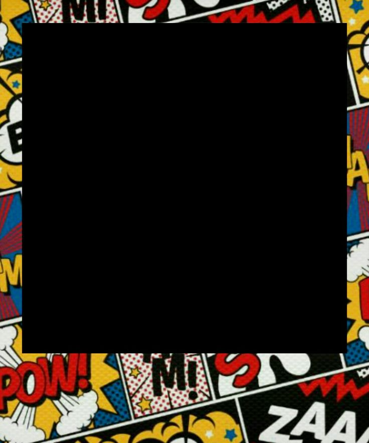 Comic Polaroids 6