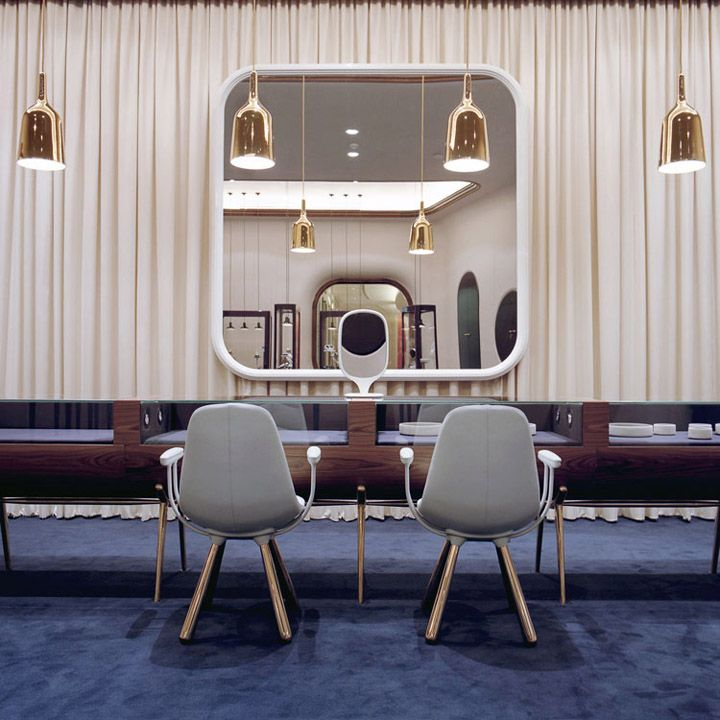 Octium jewelry store design by Jaime Hayon, Luxury Interiors, luxury furniture, designer furniture, high end furniture, home design, For more inspirations: http://www.bocadolobo.com/en/inspiration-and-ideas/