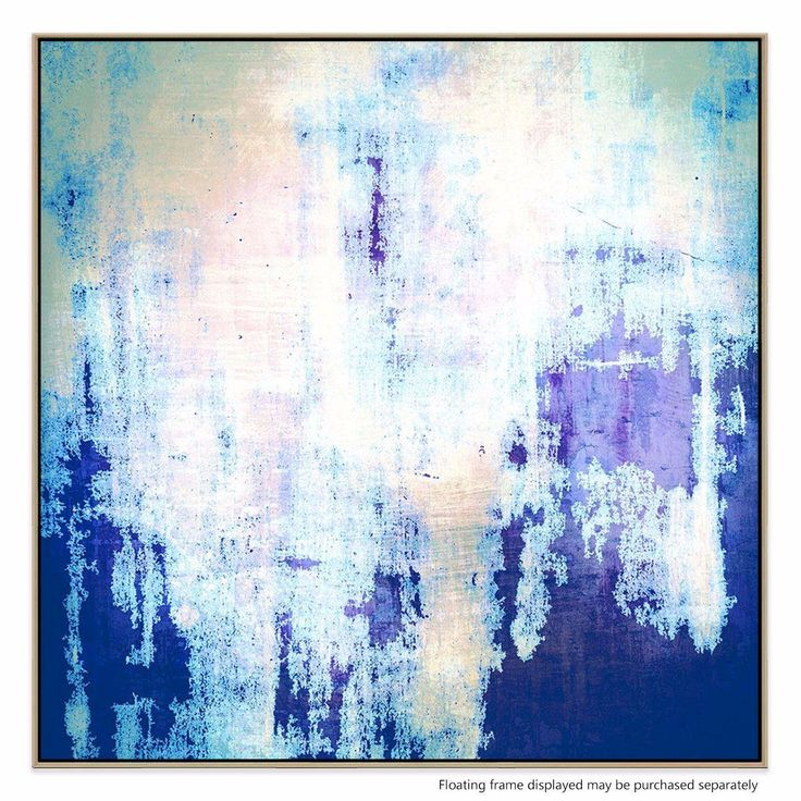 Softly layered, this print brings a wintry flare to any room it's hung in. With it's rich use of colour, this piece works best as a compelling, complementary accent to your space.
