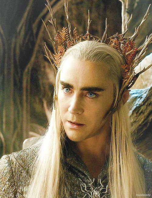 I love the badass expression on Thranduil's face in this scene from The Desolation of Smaug.