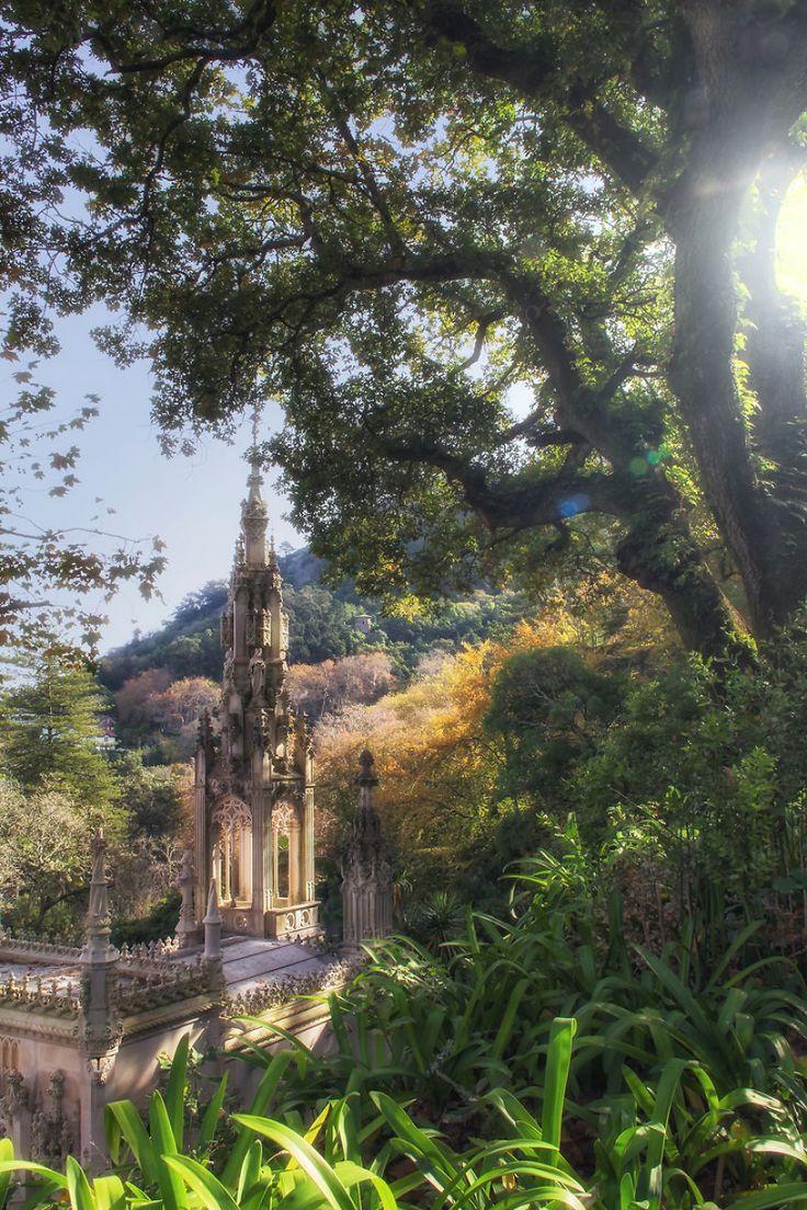 O Palácio do Mistério: Minhas Fotos da Quinta Da Regaleira   – Castles