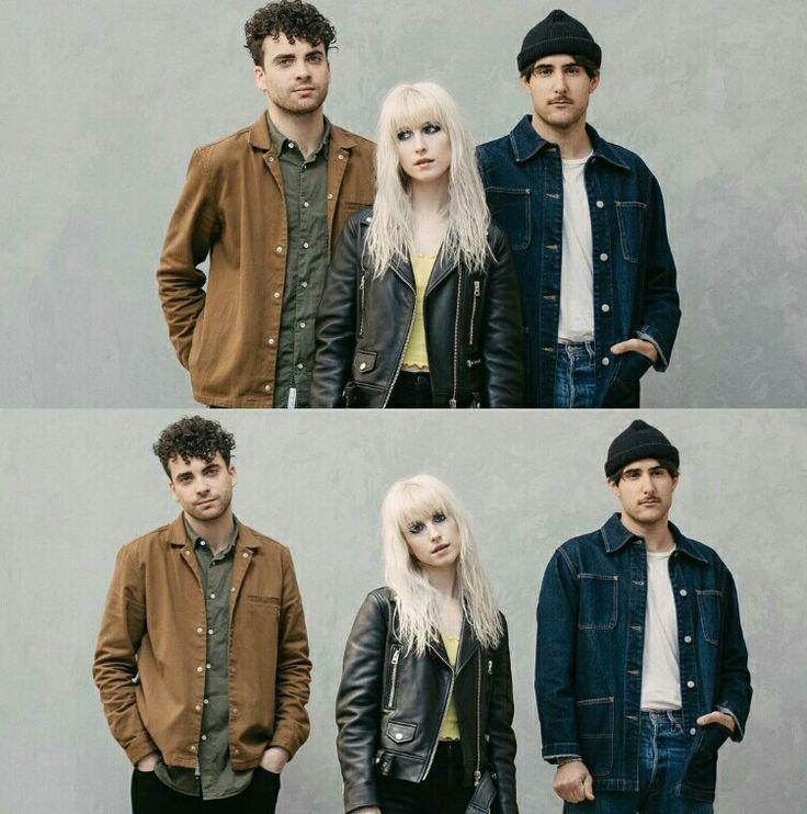 Paramore 2017 photoshoot