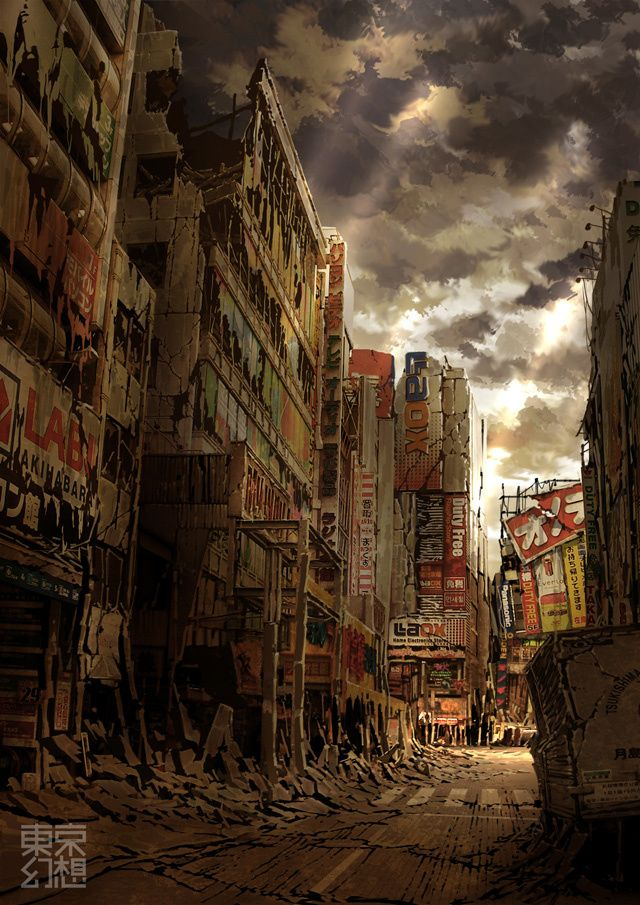 Post-Apocalyptic Tokyo. Ever wonder what the world would look like?
