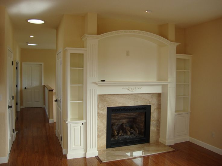 12 best images about fireplace moulding on pinterest A Fireplace with Curved Ceiling Molding Ideas Installing Molding above Fireplace