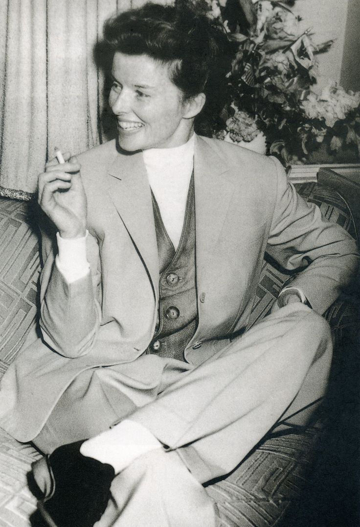 Kathrine Hepburn 1930s. getty images.