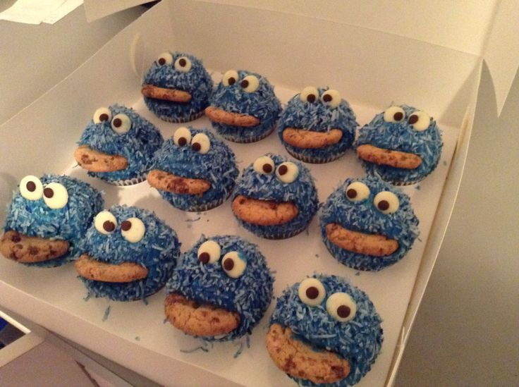 Cookie Monster Cupcakes By Shannan's Splendid Sweets & Treats