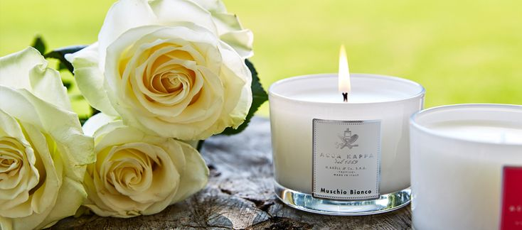 Acca Kappa scented candles made in Italy