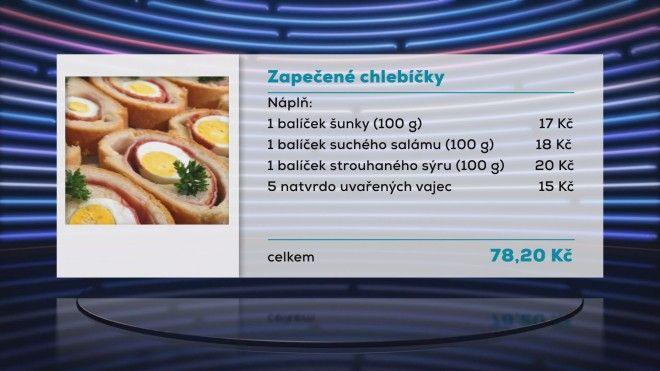 Zapečené chlebíčky 2