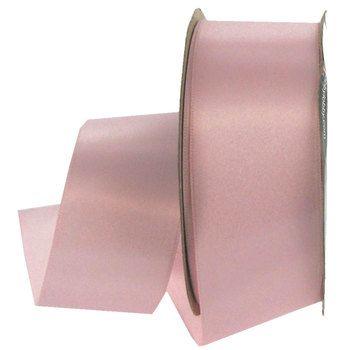 "Light Pink 1 1/2"" Double Face Satin Ribbon"