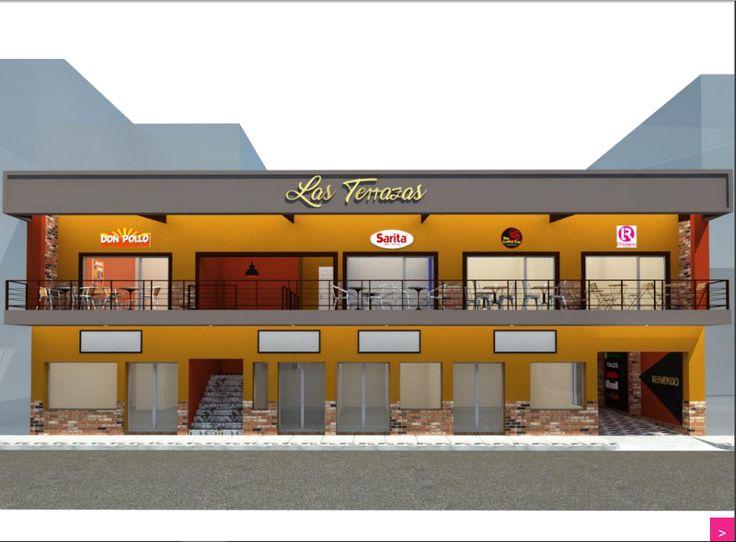Se alquilan 4 locales en segundo nivel de Centro Comercial Las Terrazas