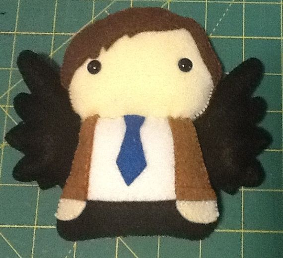 CASTIEL++Supernatural+Angel+by+CelticDragonfly+on+Etsy,+$15.00