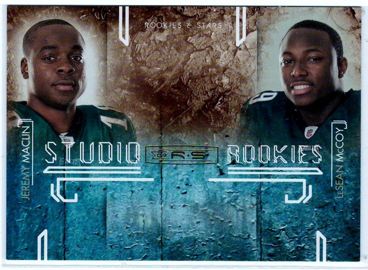 Sports Cards Football - 2009 Donruss R & S # 21/500 Jeremy Maclin / LeSean McCoy