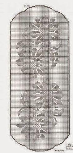 World crochet: Tablecloth 5