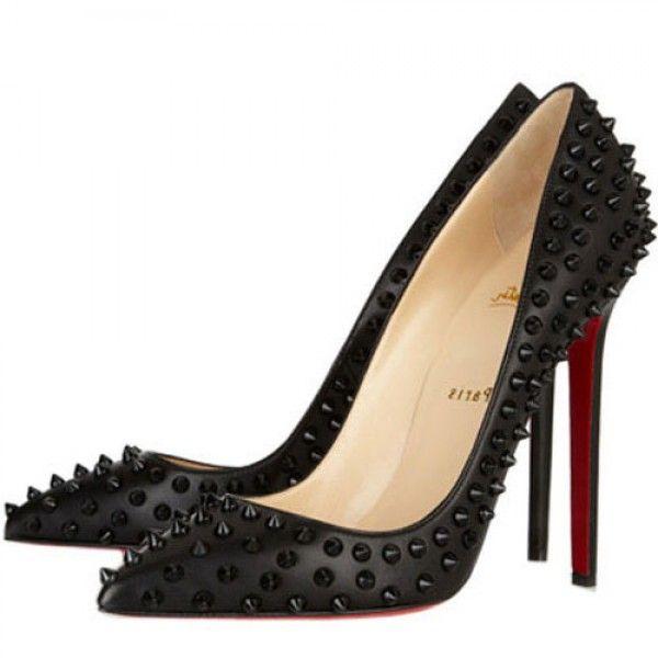 Pigalle Spikes 120 Leder Pumps Schwarz Online-Verkauf sparen Sie bis zu 70% Rabatt, einfach einkaufen ferner versandkostenfrei.#shoes #womenstyle #heels #womenheels #womenshoes  #fashionheels #redheels #louboutin #louboutinheels #christanlouboutinshoes #louboutinworld