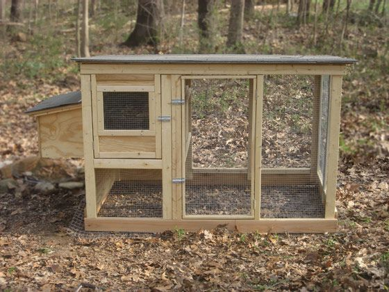 Backyard Chicken Product: Coop Building Plans - Urban Chicken Coop Plans (up to 4 chickens) - from My Pet Chicken