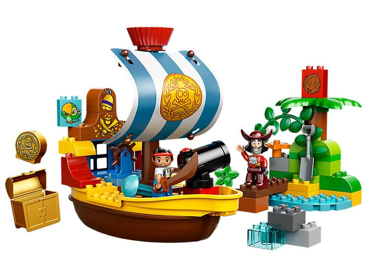 Le vaisseau pirate de Jake