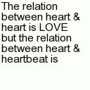 Heart - Tap to see more heart touching lines! - @mobile9 #valentine  #love