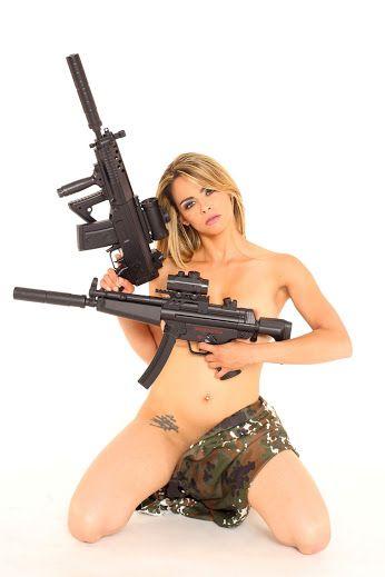 With guns women sexy