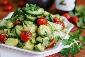 No-Lettuce Salad | FaveHealthyRecipes.com