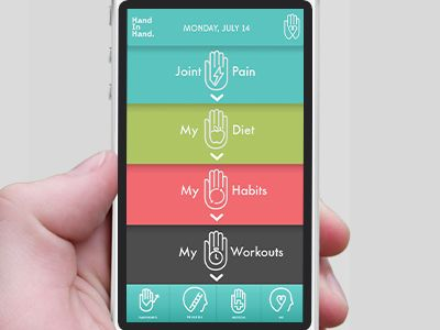 Hand In Hand - App for Tracking Arthritis Pain by Heather Aquino