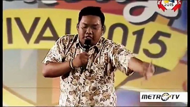Stand Up Comedy Festival 2015 - Aby Balikpapan 'Gaya Naik Motor Ibu Ibu'
