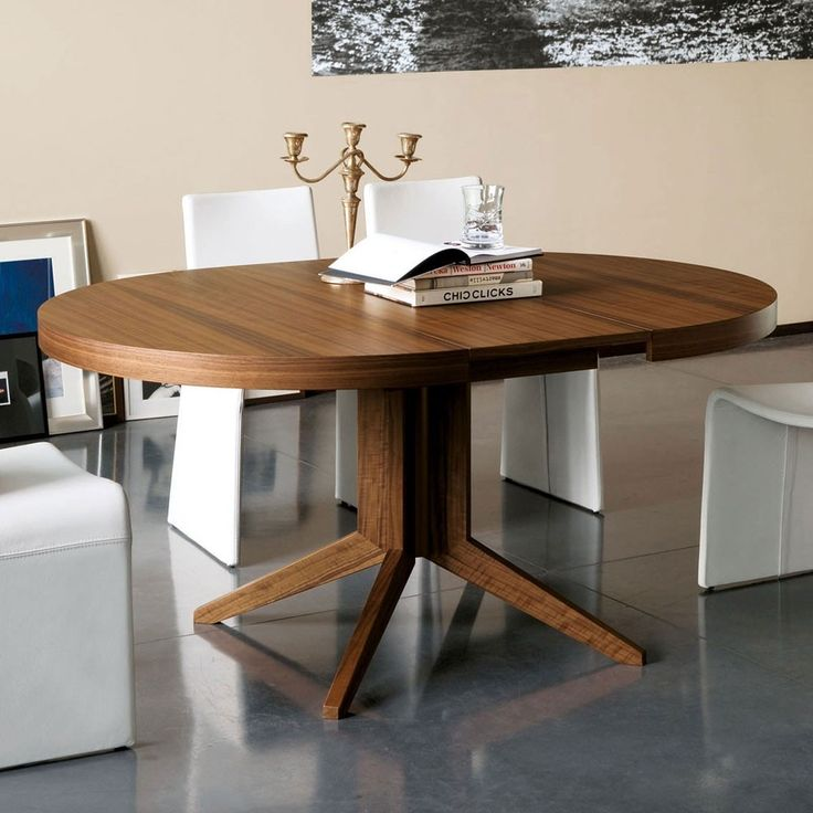 Beautiful unique pedestal dining table base dinetteonline for Beautiful round dining tables