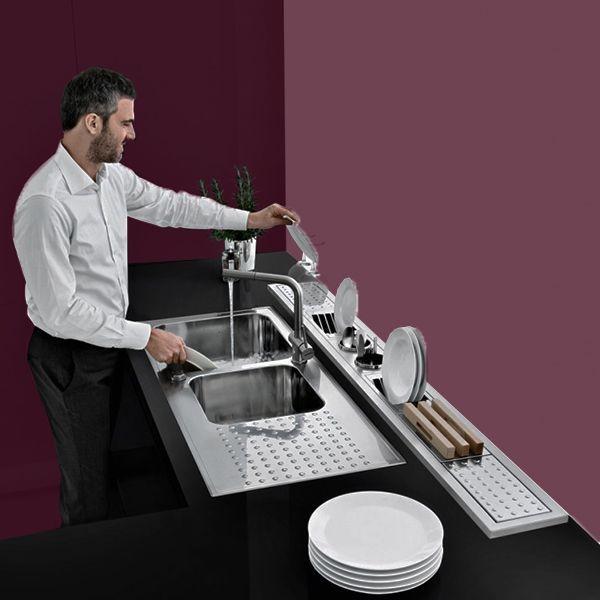 Electrodomesticos marca Barazza Italia linea Select. Soluciones tecnicas de calidad y buen gusto para los apasionados de cocina.